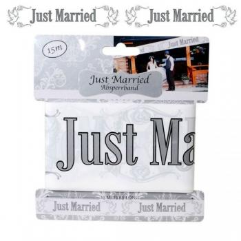 "Absperrband ""Just Married"", 15m"