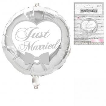 "Folien-Ballon ""Just Married"""