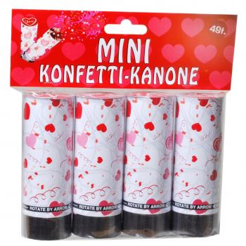 "Mini-Konfetti-Kanonen ""Love"" (4'er Set)"